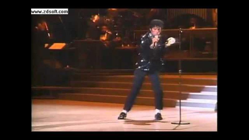 Майкл Джексон - Билли джин 1983 первая лунная походка