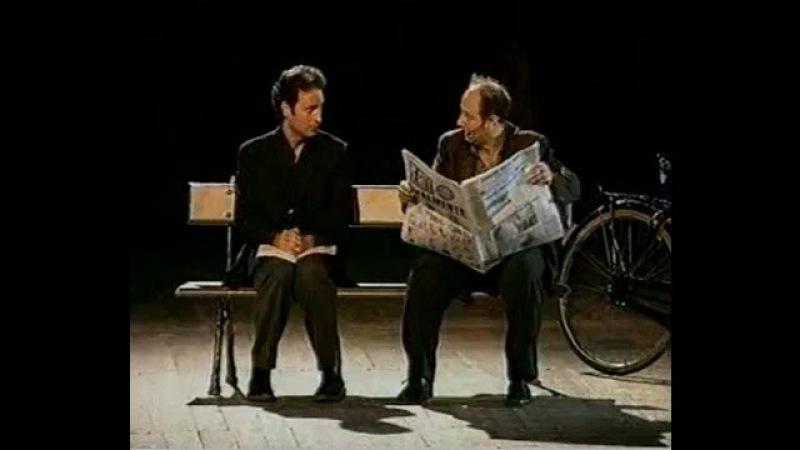 Ale e Franz - Dialoghi sulla panchina (1) tratto da E' tanto che aspetti ?