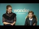 Jacob Tremblay Izabela Vidovic Wonder Interview