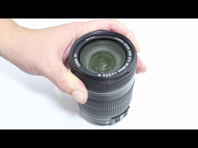 Como desmontar e limpar a lente Canon 18-135mm