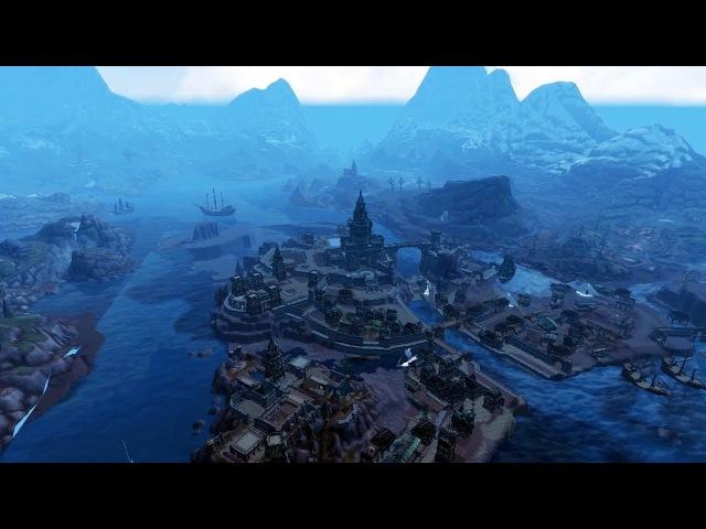 8 0 1 Battle for Azeroth Alliance Kingdom Kul Tiras Overview Alpha
