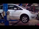 Опрессовка системы охлаждения ДВС Ford S-Max в ИНЖКАРЕ