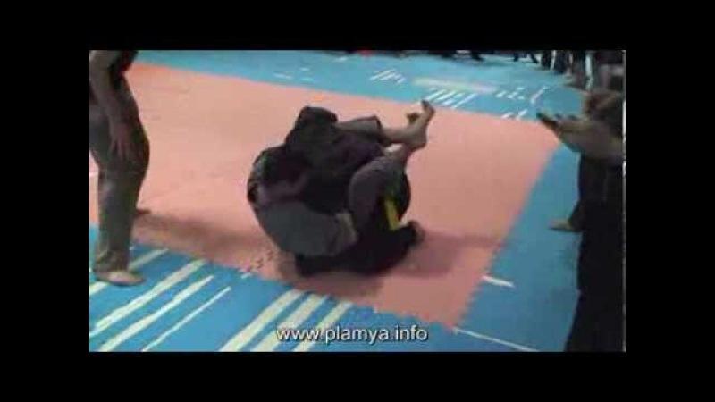 ПЛАМя - рукопашный бой - удушение