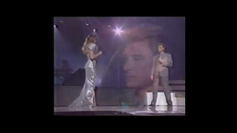 Johnny Hallyday et Arielle Dombasle