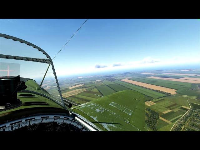 Простой пилотаж на И-16