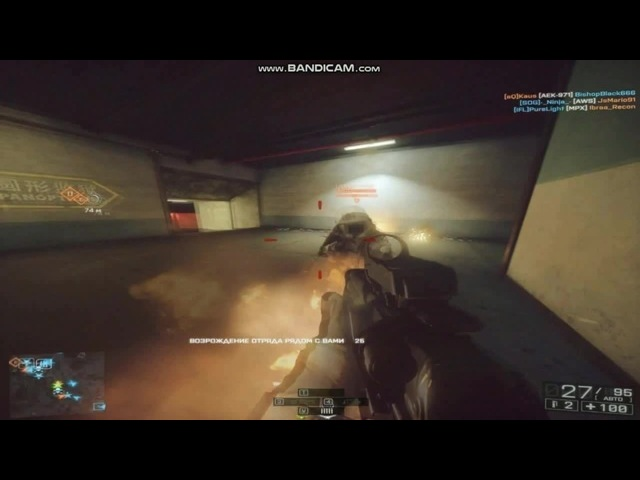 FRAGMOVIE BF4| first coming AEK 971