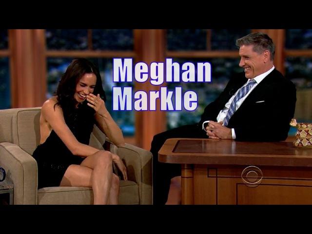 Meghan Markle - Is Charming Fun With Craig Ferguson