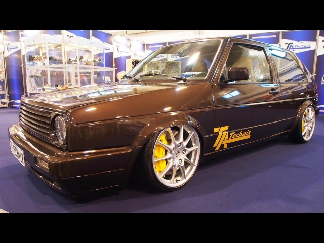 Volkswagen Golf 2 Type 19E Tuning by TA-Technix 2.8 VR6 - Exterior and Interior Walkaround