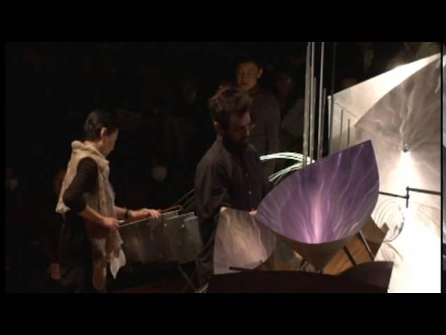 Baschet Soundsculpture Concert at Kyoto Art Center 2015