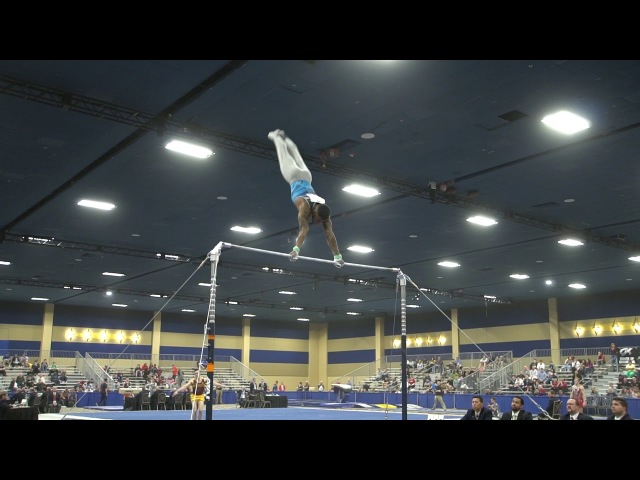 Marvin Kimble - High Bar - 2018 Winter Cup 13.750 (6.3, 7.45)