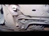 Усиление подрамника Nissan Tiida, Note, Micra, bluebird sylphy G11