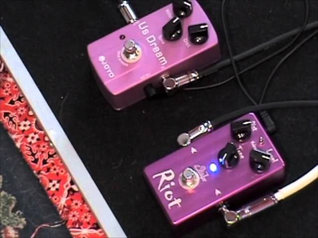 Suhr Riot versus Joyo US Dream