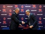 ПХК ЦСКА теперь сотрудничает с новомосковской «Викторией»