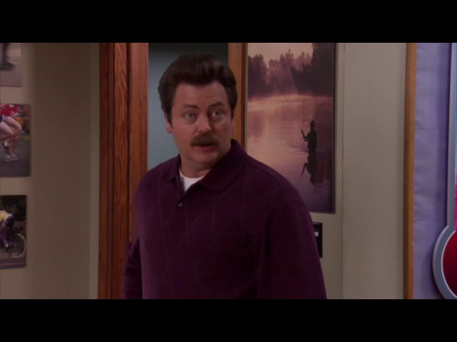 If any of you need anything at all - Ron Swanson - Parks And Recreation