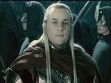 Эльфы Лориена пришли на помощь. Хельмова Падь. Осада. Властелин Колец. Две Крепос...