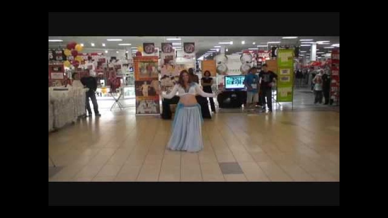 Habibi Ya Eini - Cassandra's Improv Belly Dance at Stone Road Mall