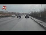 Оторвавшееся колесо отправило в полет Lexus во Владимире