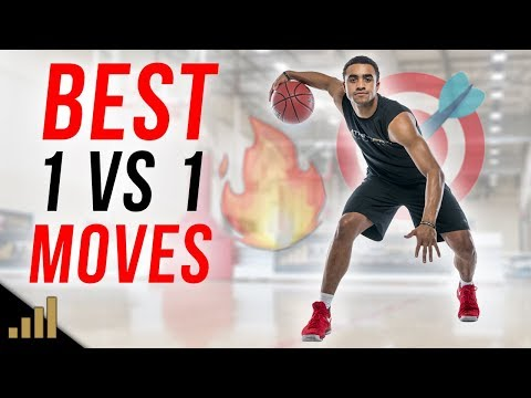 BEST 1 ON 1 BASKETBALL MOVES TO BREAK ANKLES The Stutter Step Crossover Move