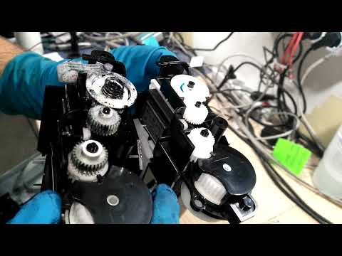 Инструкция ремонт Epson T50P50L800R290 (Замена узла выброса отработанных чернил)