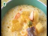 Рыбный суп с молоком