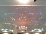 Звездное небо выполненное в г. Сургут в ресторане