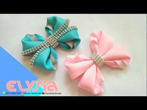 Laço Melisa | Melisa Ribbon Bow | DIY by Elysia Handmade