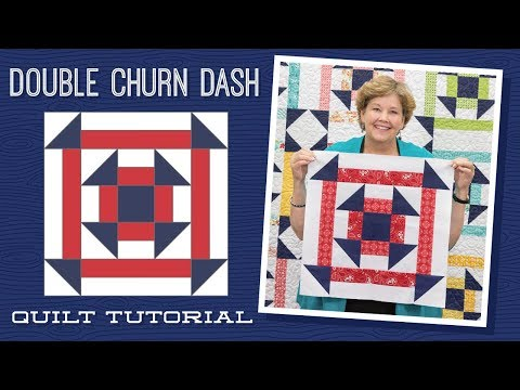 Make a Double Churn Dash Quilt with Jenny