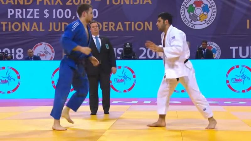 Tunis Grand Prix 2018 Final -81 kg SEMENOV S RUS-ALBAYRAK V TUR