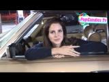 31 июля 2012; Западный Голливуд, США: Лана на автозаправочной станции / направляется в отель «Chateau Marmont»