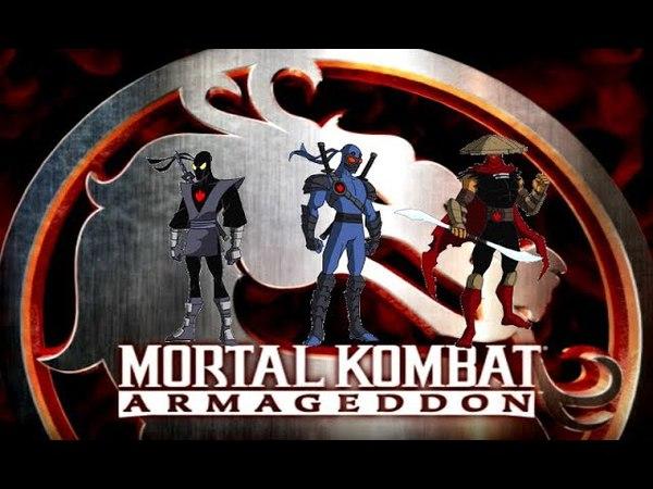 Mortal Kombat: Armageddon (K.A.F) - Some TMNT characters pt5 - TMNT 2003 pt3
