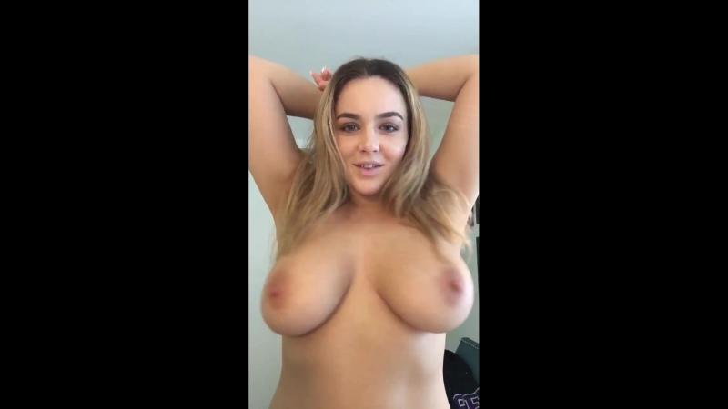 Natasha Nice трясёт большими натуральными сиськами, звезда порно модель секс эро