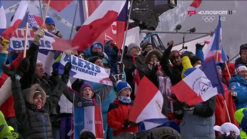Alexis Pinturault 2nd run GS WC Val d´Isere - Winner
