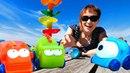 Видео для малышей. Игры в машинки с Машей Капуки Кануки