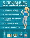 5 привычек для стройной фигуры!