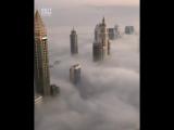 Вид с небоскрёба в Дубае