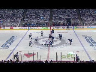 NHL 17/18, SC, WC: Round 1, Game 2. Minnesota Wild - Winnipeg Jets [13.04.2018, SNO]