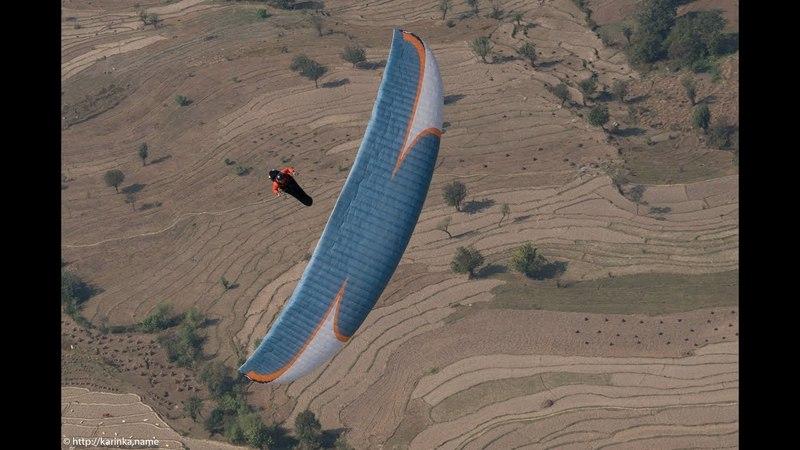 Paragliding CRaSH 10 (Russian airman vs Eagle) Орел влетел в параплан/