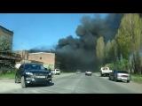 Пожар во Владикавказе