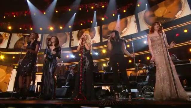 Aretha Franklin Tribute by Christina Aguilera, Florence Welch, Jennifer Hudson, Martina McBride, Yolanda Adams