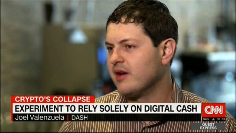 Joël Valenzuela on using Dash for everyday purchases CNN International