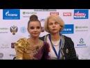 Дина Аверина - булавы (финал)/Гран-При, Москва 2018