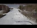 12.04.18 Красное озеро, снег Есть!!