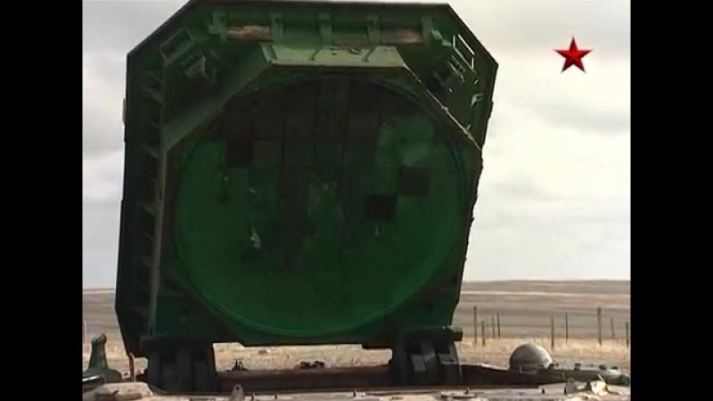 Zapusk mezhkontinentalnoy rakety Voevoda