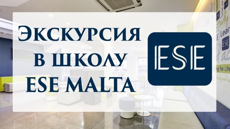 Экскурсия в школу английского языка ESE Мальта посидим на двух уроках познакомимся с директором