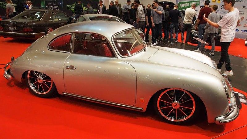 Porsche 356 A 1959 Tuning 1.6L 60ps 44kW, Flat-4BRM Felgen 7j x R17 - Exterior LookAround