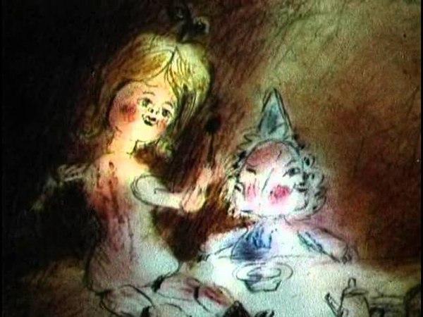 The pink doll 1997 Розовая кукла В Ольшванг EN ES subs Russian animation