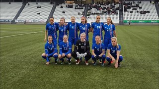 Women teams. Faroe Islands - Iceland - 0:5 (10.04.2018)