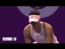WTA Doha R2 2018 Garcia vs Cibulkova
