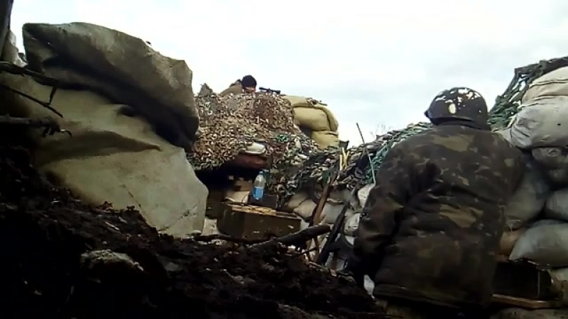 Как каратель получил пулю в авдеевской промзоне👉Группа:Наш Донецк vk.com/donetskcity2