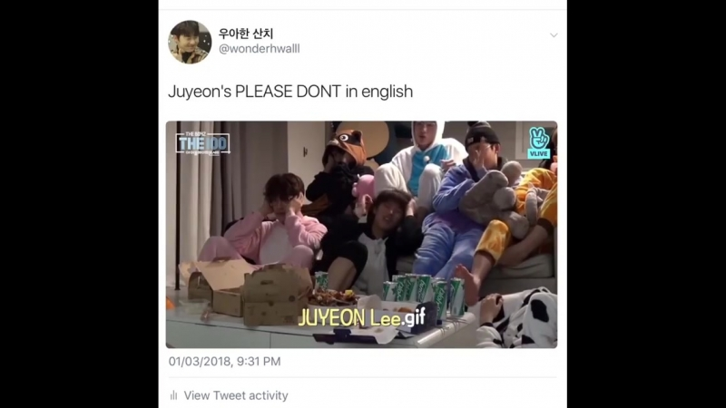 *the boyz* lee juyeon - please don't